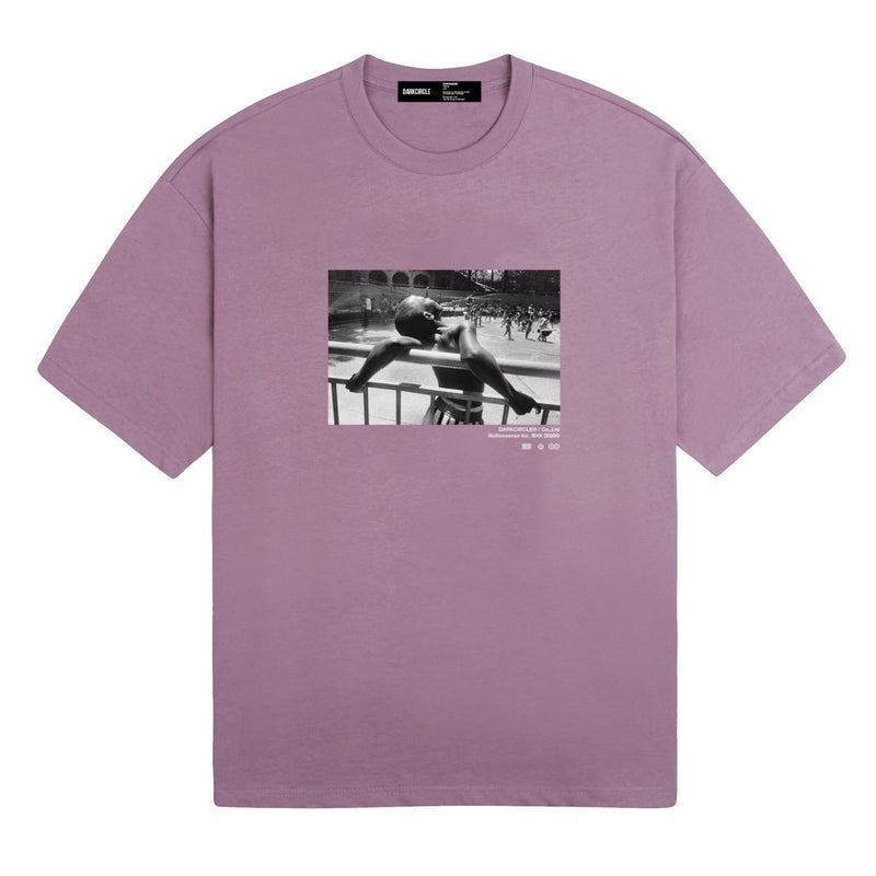Summer Dreaming - Washed Purple T-shirt DARKCIRCLE®