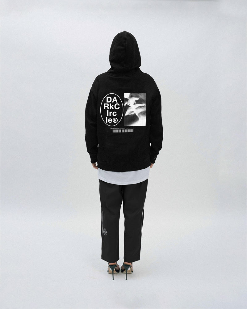 The Kiss Hoodie - Black Hoodie DARKCIRCLE®