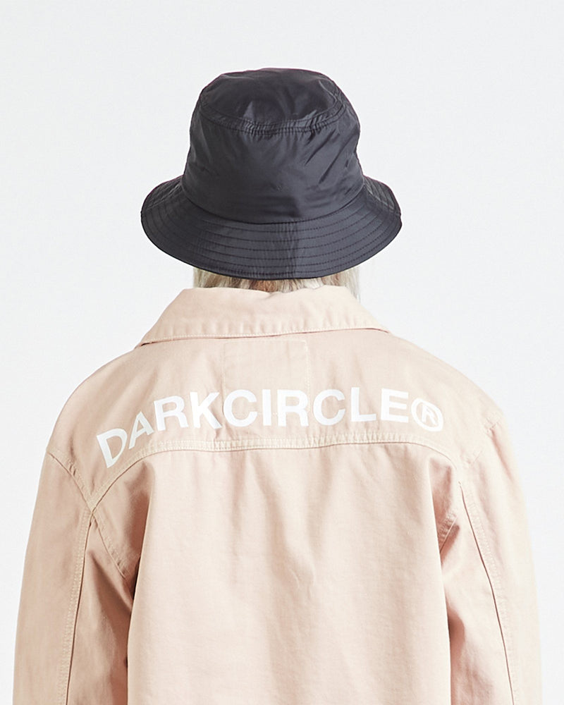 Triple Line Bucket Hat - Black Accessories DARKCIRCLE®