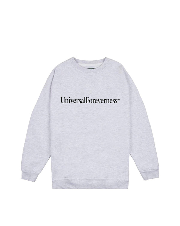 Universal Foreverness Crewneck - Arctic Grey Hoodie DARKCIRCLE®
