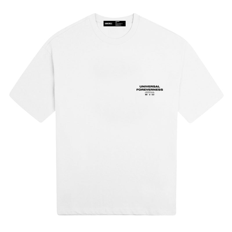 Universal Thinker - White T-shirt DARKCIRCLE®