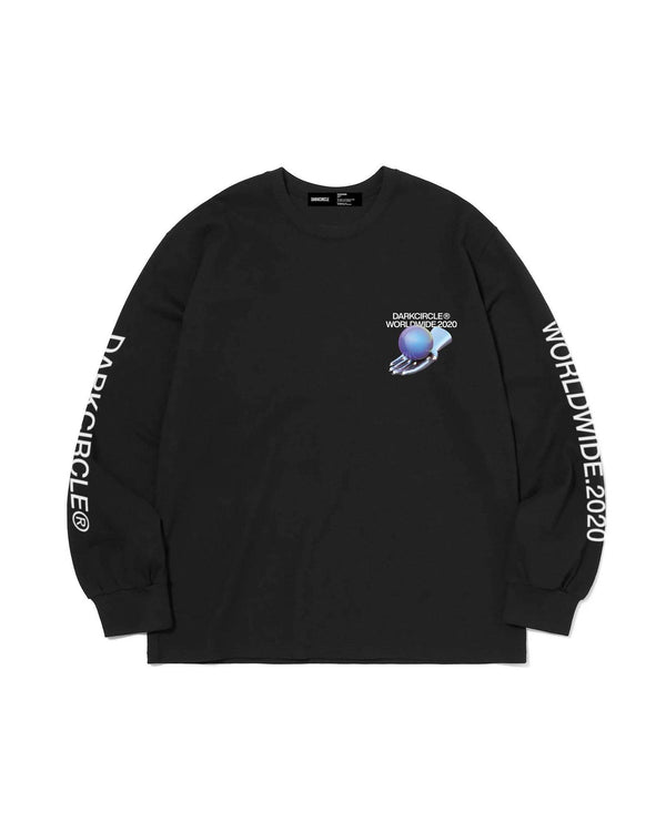 WorldWide 20 L/S - Black T-shirt DARKCIRCLE®