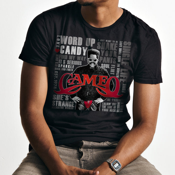 CAMEO Larry Blackmon Hits Unisex T-Shirt