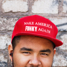 "Load image into Gallery viewer, CAMEO ""Make America FUNKY Again"" Hat"