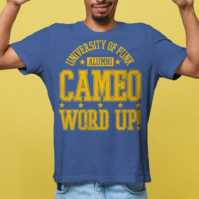 CAMEO Word Up! University of Funk Alumni Unisex T-Shirt