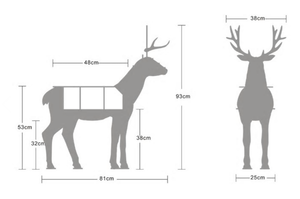 Reindeer Shelf