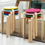 Colorful Wooden Stool