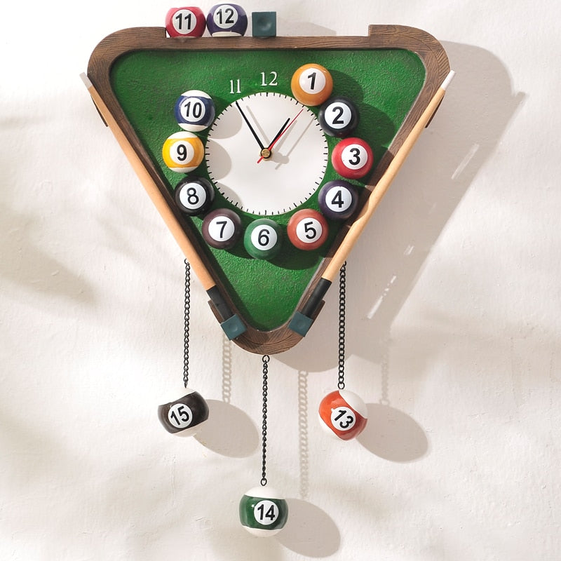 Billiard Wall Clock