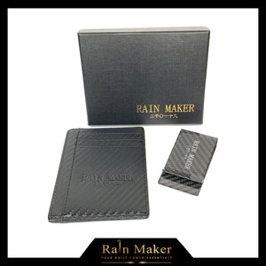 Rain Maker Carbon Fiber Wallet & Money Clip