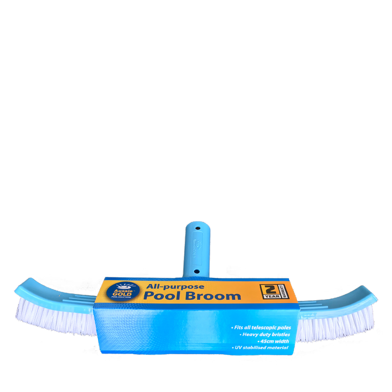 Pool Accessories, Pool Chemicals Direct	Aussie Gold All-purpose Pool Broom.