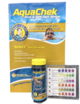 Aquachek Gold Pool & Spa 7 in 1 Test Strips with Guide Book