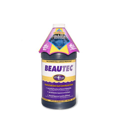 Pool Chemicals, Beautec	Preventative Surface Cleaner. Superior Pool Scale-Stain-Scum Preventative Surface Cleaner.