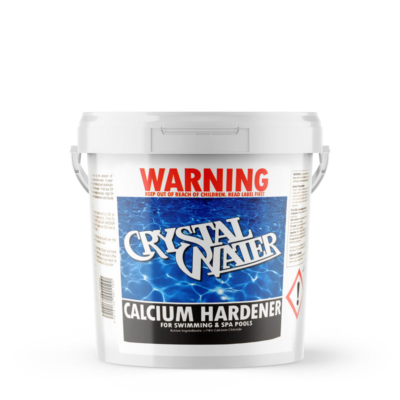 Pool Chemicals, Crystal Water	Calcium Hardener 10KG. Increases calcium hardness levels in swimming pools.