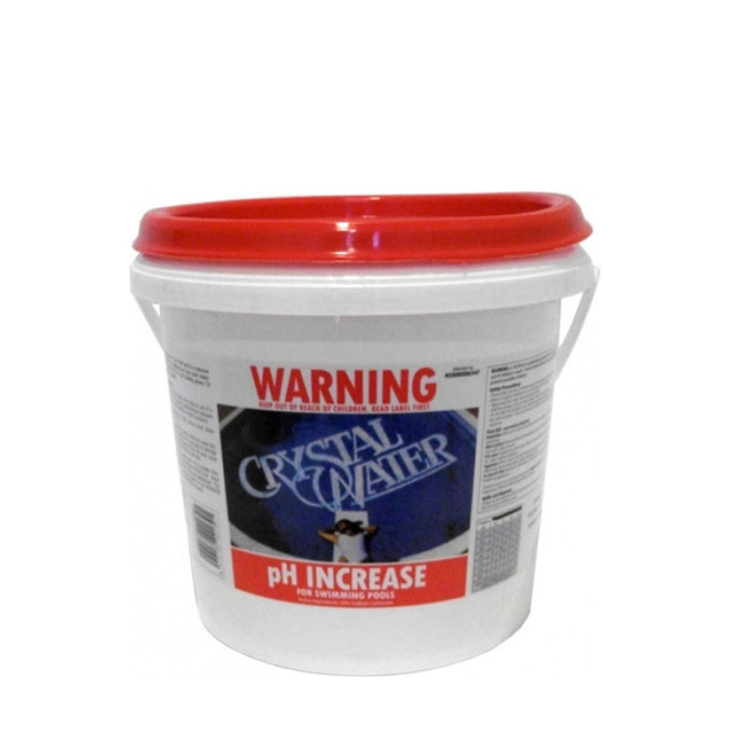Pool Chemicals, Crystal Water	pH Increase 25KG. Used to control the acidity of pool water and increase the pH level.
