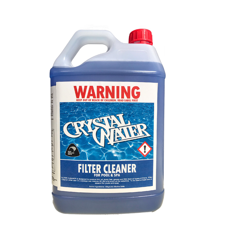 Pool Accessories, Pool Chemicals Direct	Pool & Spa Filter Cleaner. Concentrated cleaner for sand and cartridge filters. 5L