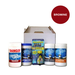 Pool Chemicals, Crystal Water	Spa Startup Kit Bromine. Start up kit is designed for easy convenience with all the products in one box for your initial spa treatment.