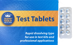 Cyanuric Acid Test Tablets x 50