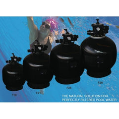Pool Pumps & Filters, Filtermaster	Sand Filter F25. Sand Filters are the natural solution for perfectly filtered pool water.