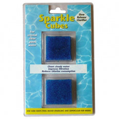 Pool Accessories, Pool Chemicals Direct	Sparkle Cubes	2 Pack. Sparkle Cubes help clear cloudy water.