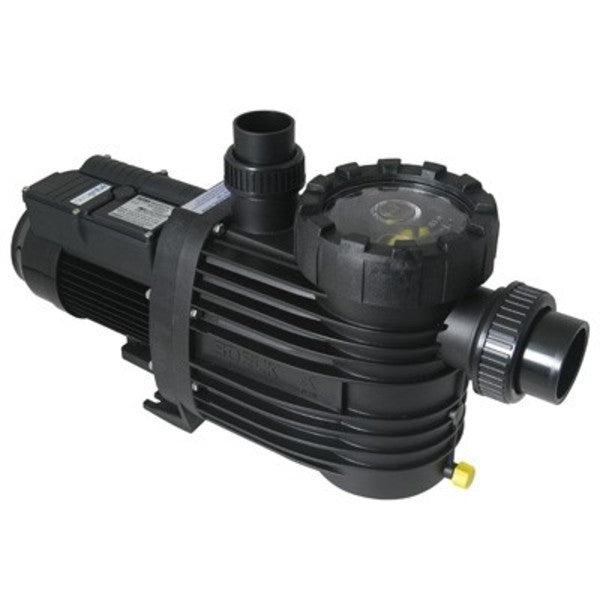 Pool Pumps & Filters, Speck Super 90 1.25 HP Pump. Used for pools and spas with a wide range of applications including solar heating and use with automatic pool cleaners.