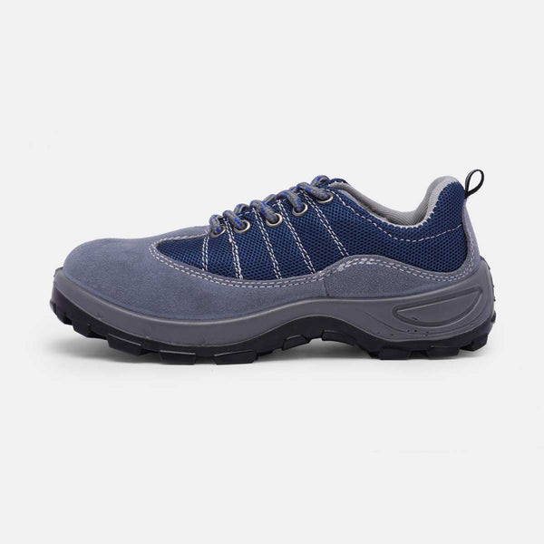 Unisex Flat Heel Athletic Outdoor Work & Safety Sneakers