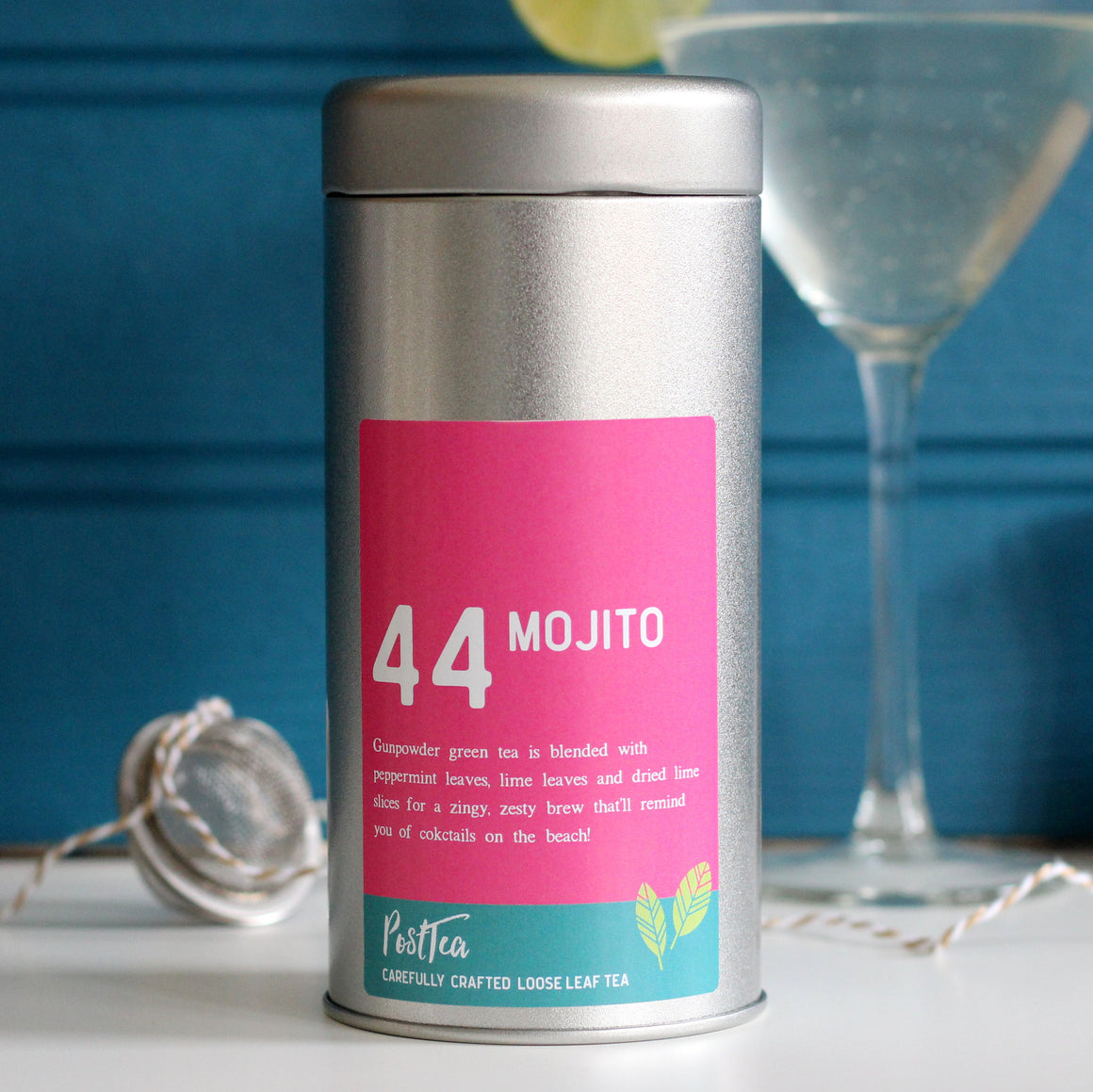 Mojito Tea Caddy Set - PostTEA