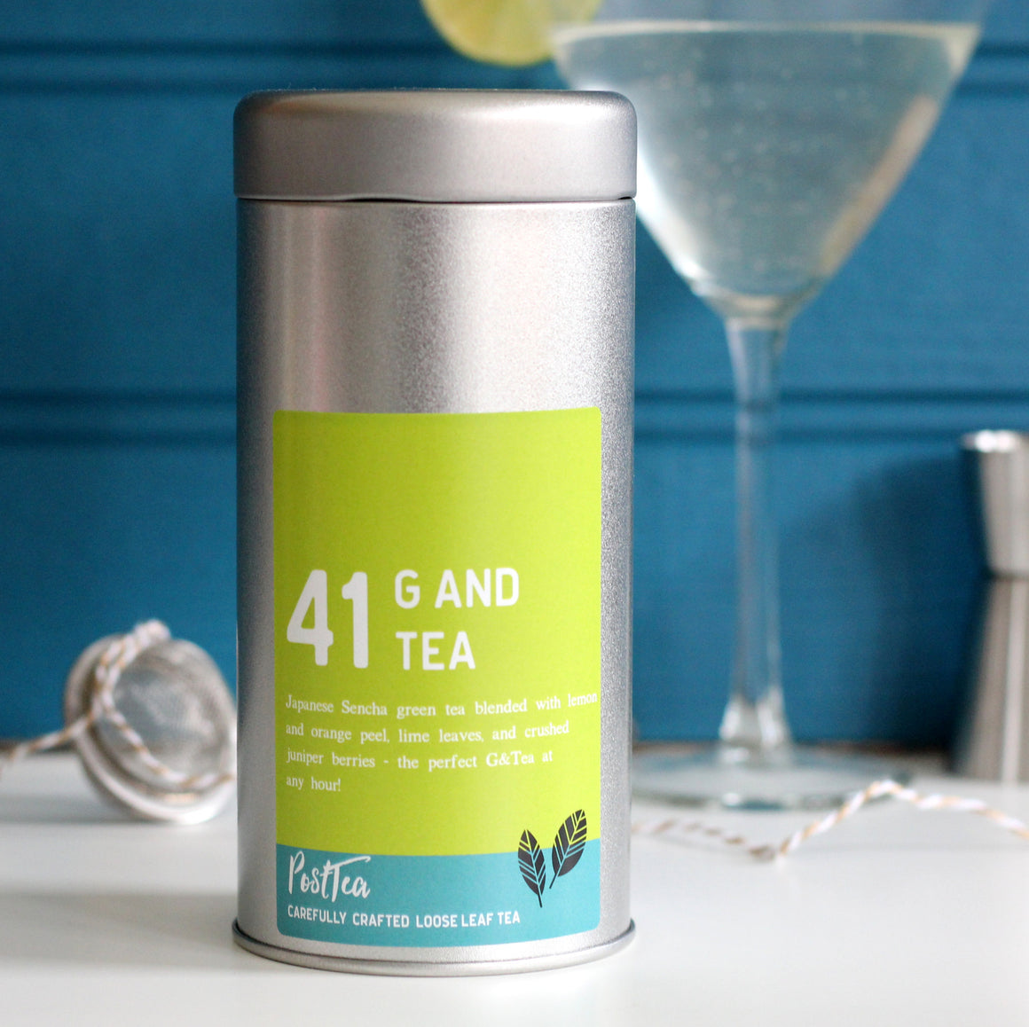 Gin and Tonic Tea Caddy Set - PostTEA