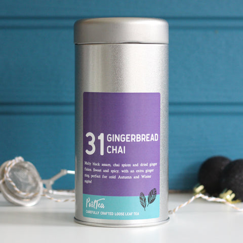 Gingerbread Chai Caddy Set - PostTEA