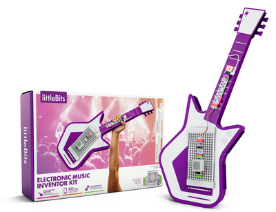 Create music with the littleBits Electronic Music Inventor Kit