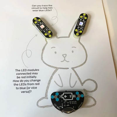 Evaluation of Tinkercademy Circuit Scribe Bunny Booklet
