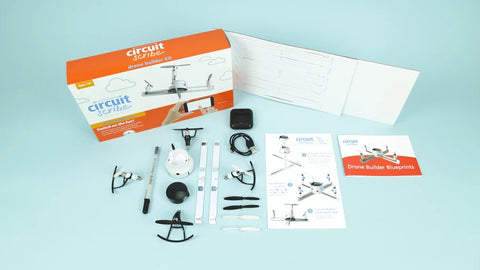 Flying with Circuit Scribe Drone