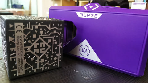 Merge Cube and VR headset on GetHacking Online Store