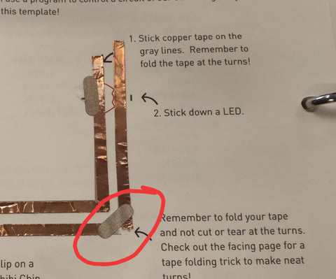 troubleshooting copper tape