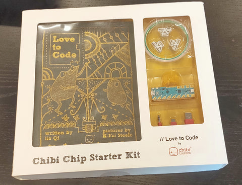 "Chibitronics ""Love To Code"" Creative Coding Kit on GetHacking Online Store"