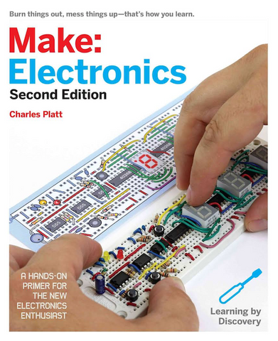 Make Electronics Book by Charles Platt