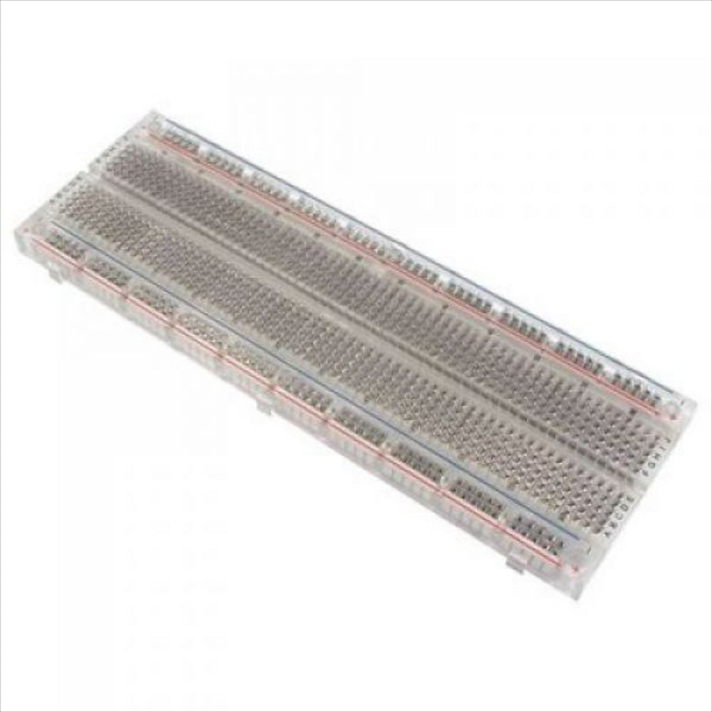 Solderless Breadboard 630 Tiepoints, Transparent