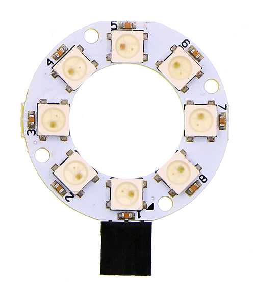 ElecFreaks 8 RGB WS2812 Rainbow LED Ring