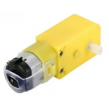 DC Gear Motor, 90° Shaft