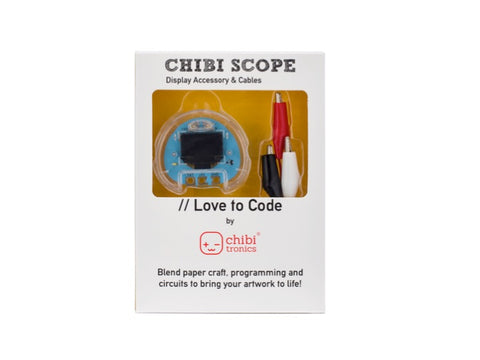 Chibitronics Love To Code: Chibi Scope