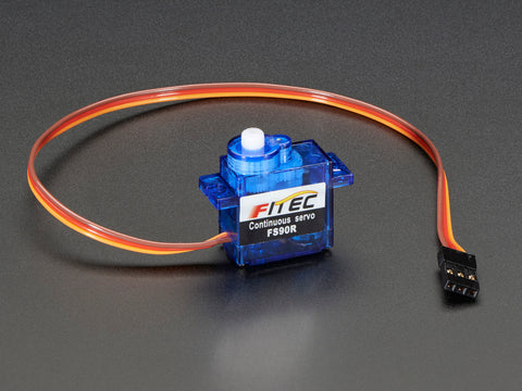 Micro 360 Degree Continuous Rotation Servo