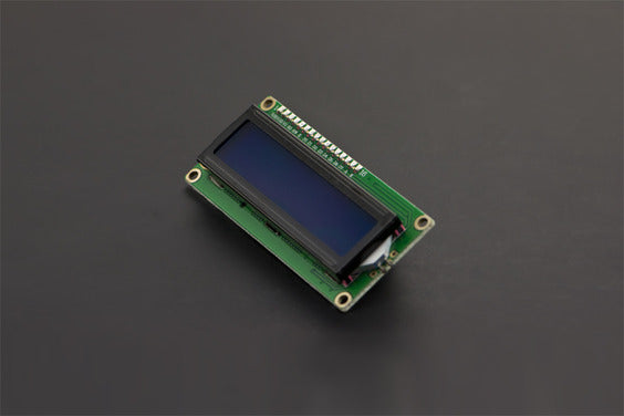 I2C 16x2 LCD Character Display