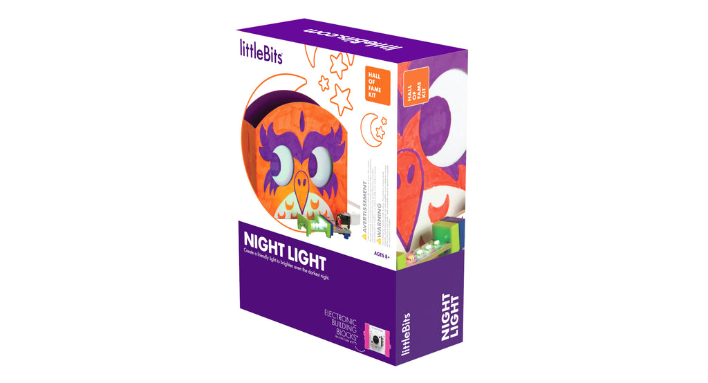 littleBits Hall of Fame Night Light Kit