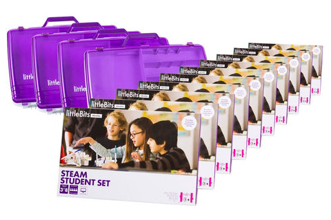 littlebits STEAM Education Class Pack, EU/UK, 30 Students