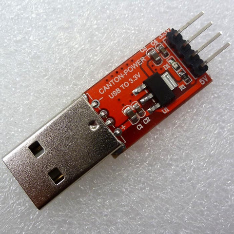 USB A to 5V & 3.3V Power Supply Module