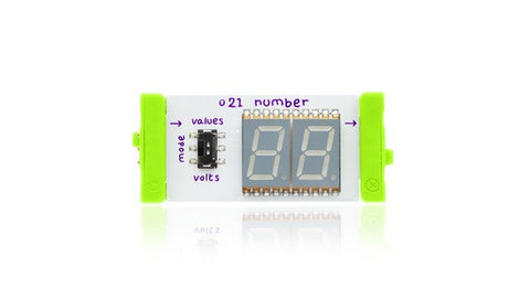 littleBits Individual Bits - Number