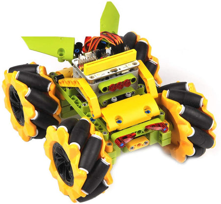 micro:bit Wonder Rugged Car kit (Yellow)