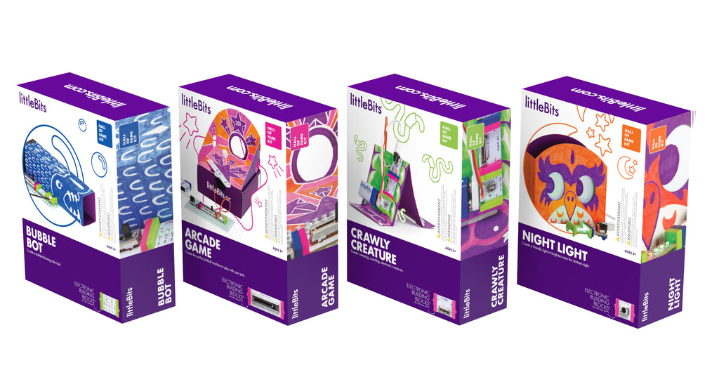 littleBits - Hall of Fame Kit Inventor Bundle