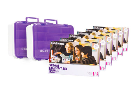 littlebits STEAM Education Class Pack, EU/UK, 18 Student