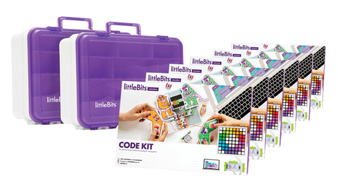 littleBits - Code Kit Class Pack, 24 Students