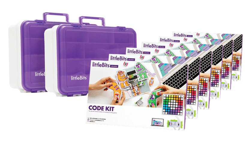 littleBits - Code Kit Class Pack, 18 Students